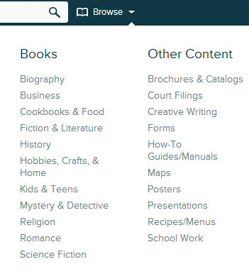 scribd browse