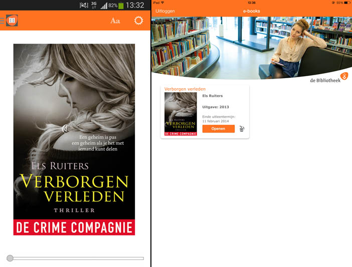 bibliotheek ebooks apps