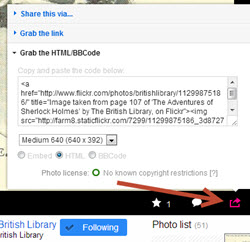flickr british library share