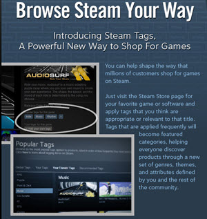 steam tags