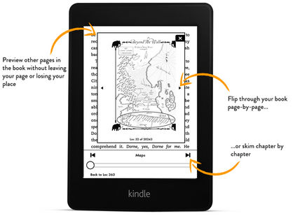 page flip kindle paperwhite