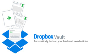 dropbox vault feedly