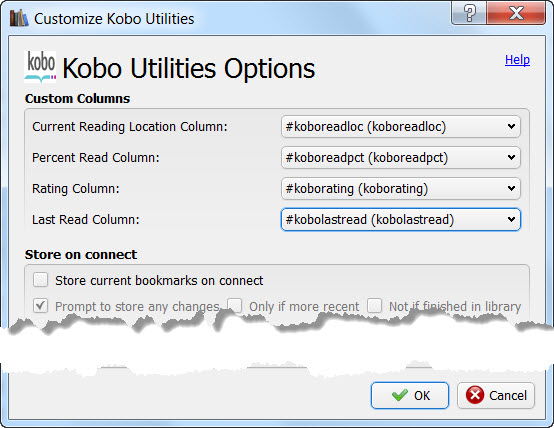 kobo utilities options