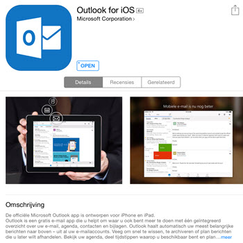 outlook ios