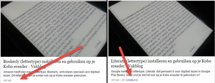 facebook authorship vergeleken