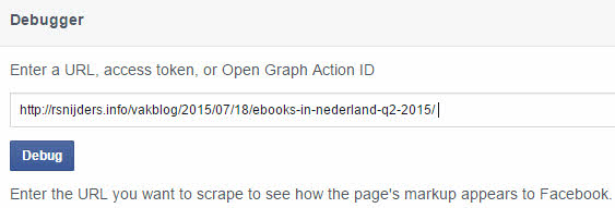 facebook authorship debugger
