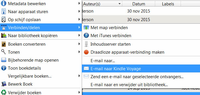ebooks via mail versturen