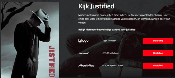 legale films film.nl justified