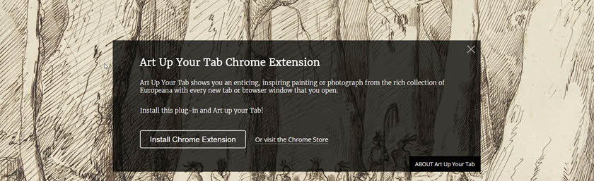 Art Up Your Tab header