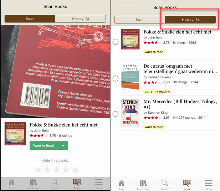 goodreads scanner