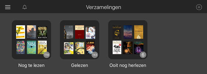 kindle collecties
