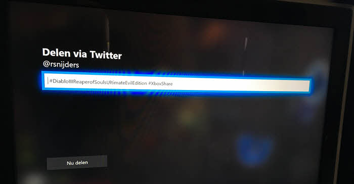 xbox one screenshots twitter